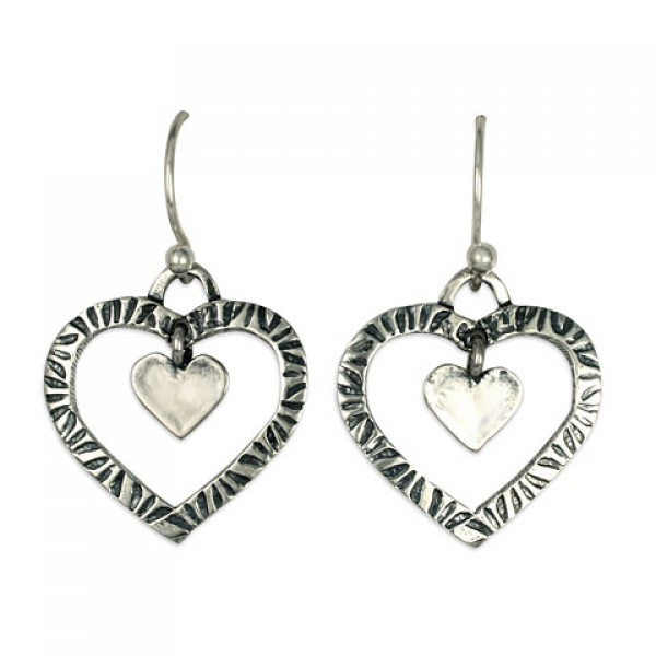 Taliesan Heart with Heart Earrings