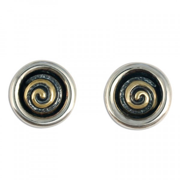 Spiral Eclipse  Earrings
