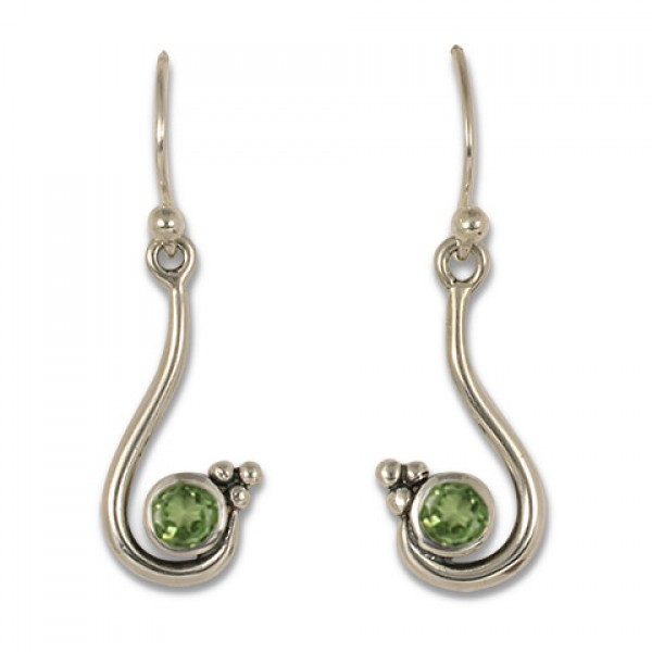 Celada Earrings with Gem