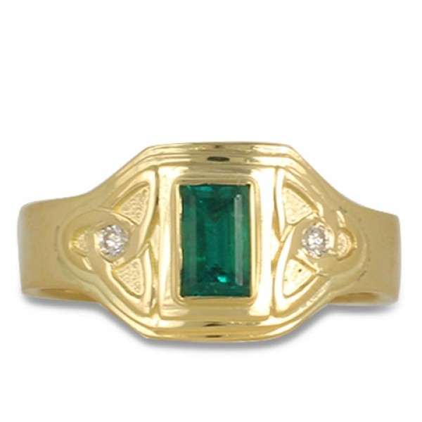 One-of-a-Kind Aria Emerald Ring
