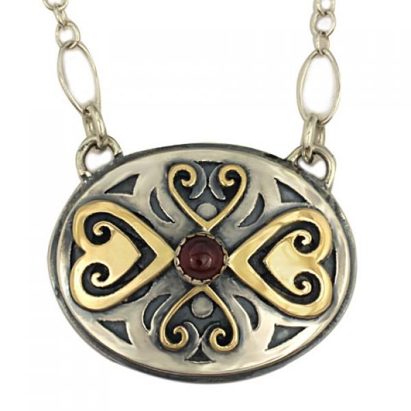 Fiona Heart  Necklace