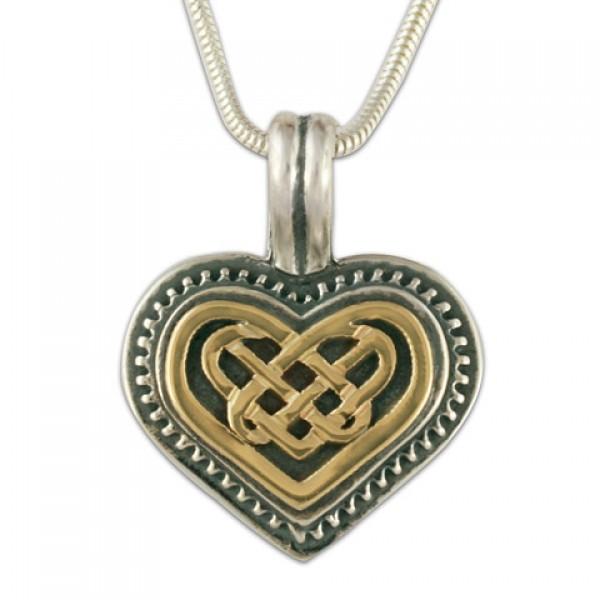 Heart Pendant (14K Gold Over Silver)