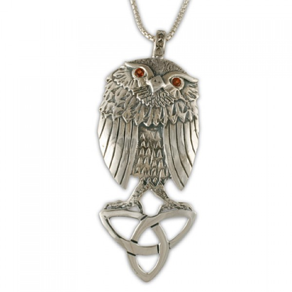 Trinity Owl Pendant