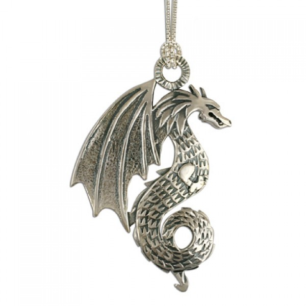 Dragon Pendant on Chain