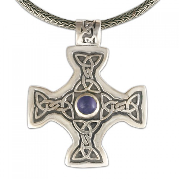 Columba's Cross on Woven Chain