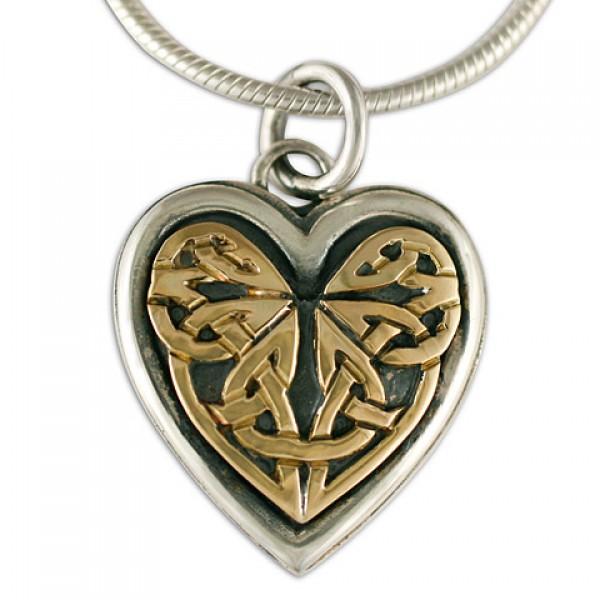 Heart Woven Pendant