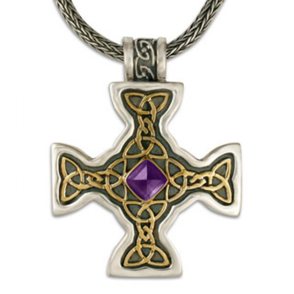 Columba Cross Mixed Metal