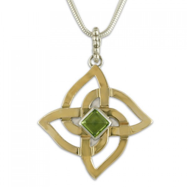 Karasel Pendant with Gem
