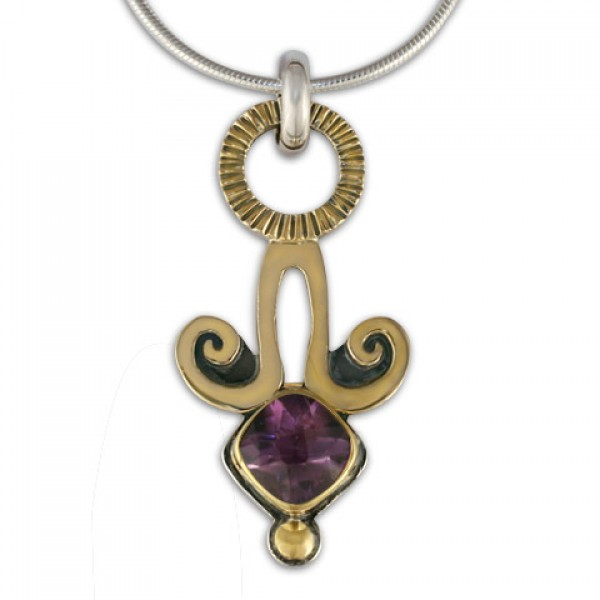 Angelica Pendant With Gem