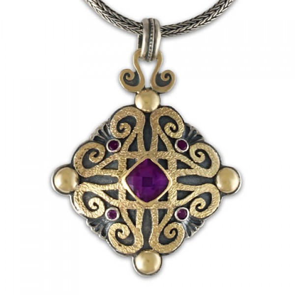 Shonifico Pendant with Gems
