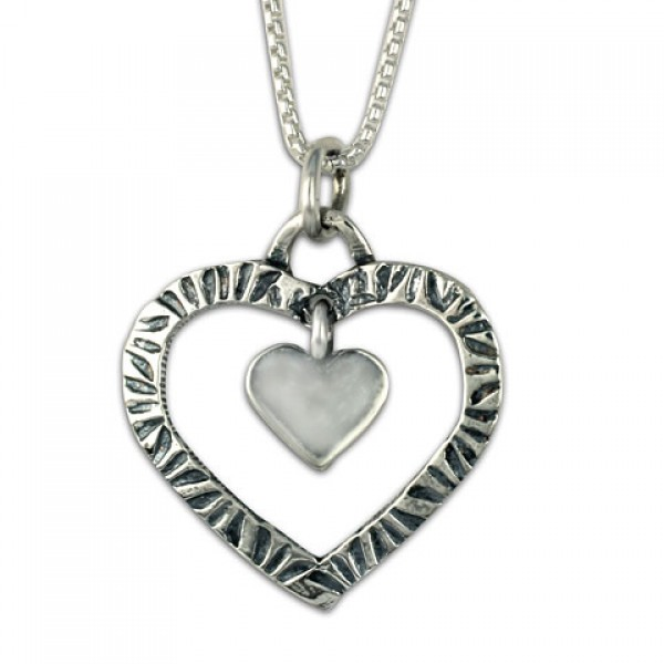 Taliesan Heart with Heart Pendant