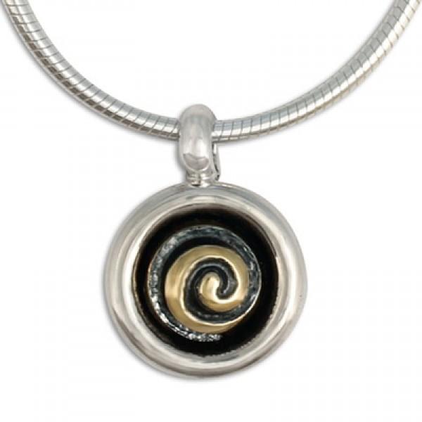 Spiral Eclipse Pendant