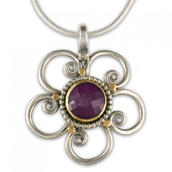 Passion Flower Pendant