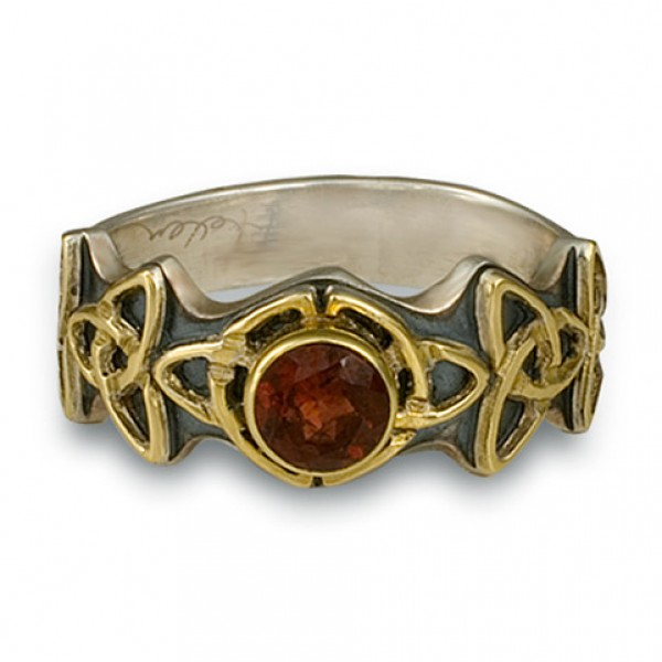 Trinity Ring with Stone