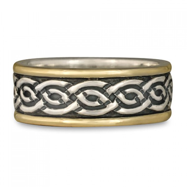 Classic Celtic Knot Wedding Rings by Celtic Jewelry