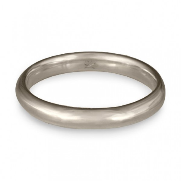 Classic Comfort Fit Wedding Ring Platinum, 3mm