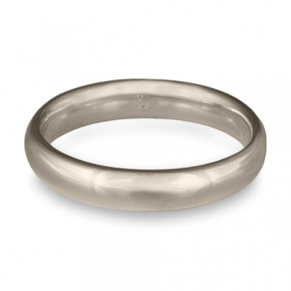 Classic Comfort Fit Wedding Ring Platinum, 4mm