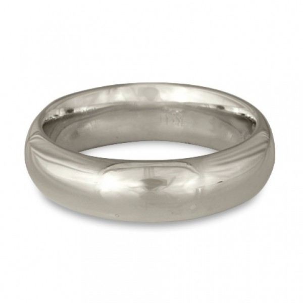 Classic Comfort Fit Wedding Ring Platinum, 6mm