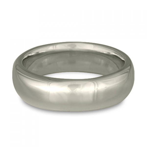 Classic Comfort Fit Wedding Ring Platinum, 8mm
