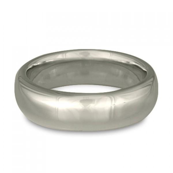 Classic Comfort Fit Wedding Ring Platinum, 8mm