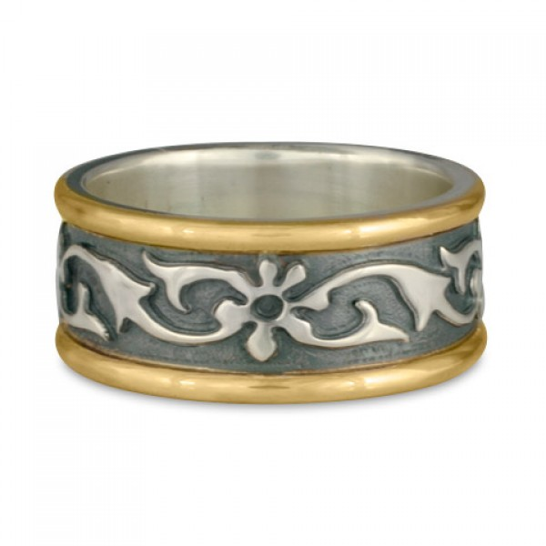 Persephone Ring with Borders (GSG)