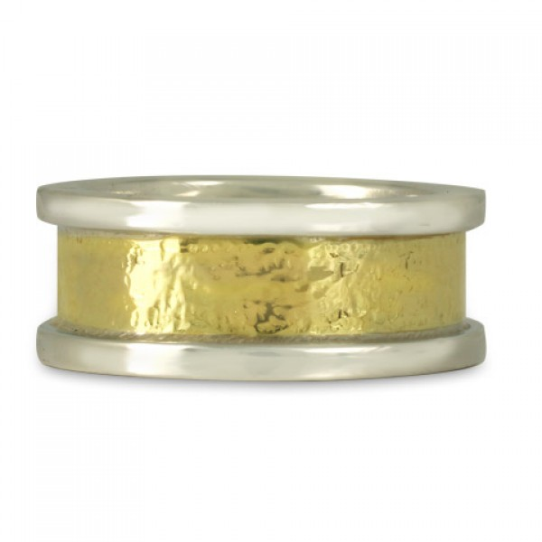 Kings Ring in Gold and Silver