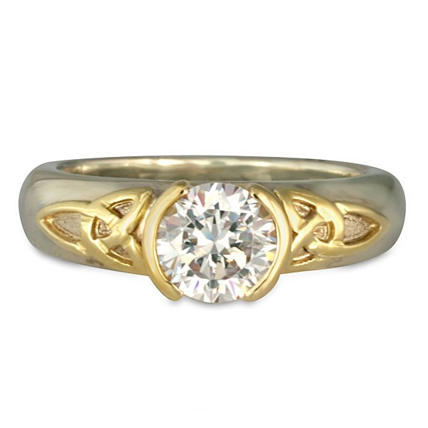 Trinity Solitaire Engagement Ring