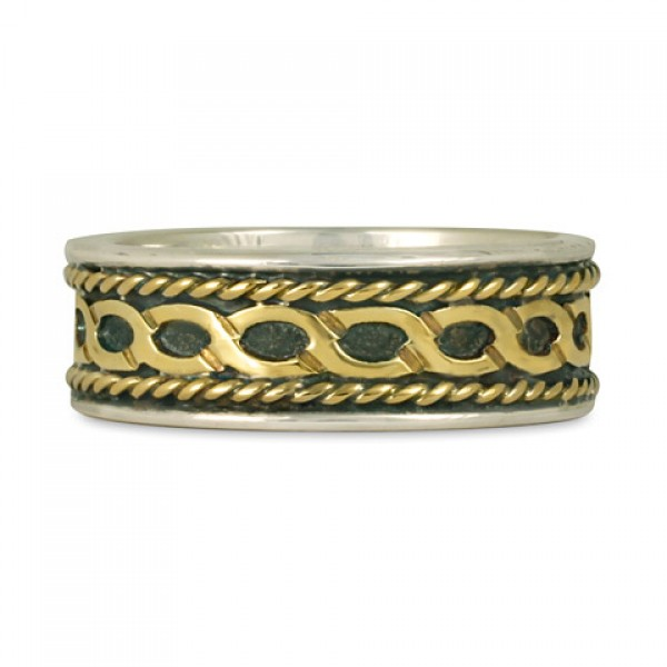 Rope Twist Wedding Ring (SGS)