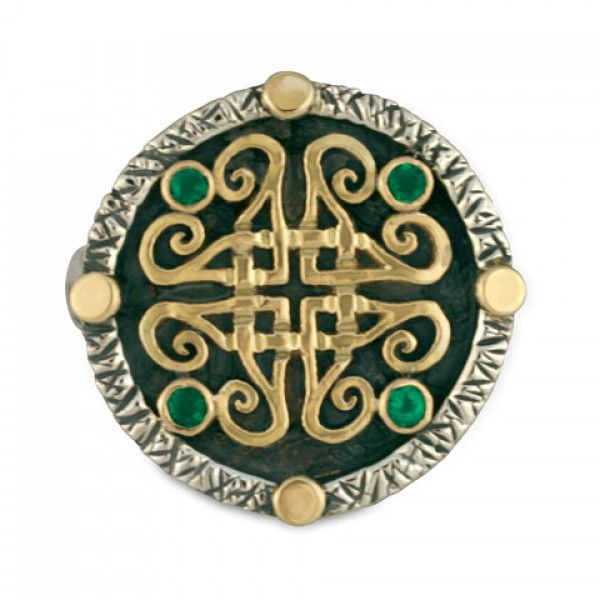Shona Medallion Ring