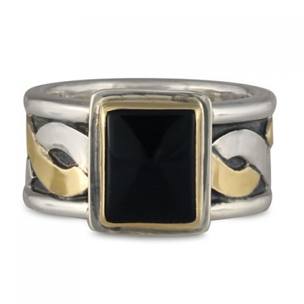 Donegal Ring with Stone