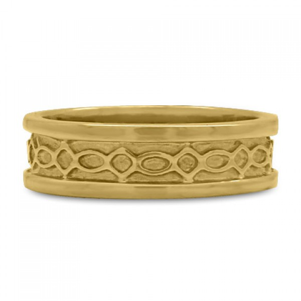 Felicity (WB) Wedding Ring in 14K Yellow or White Gold
