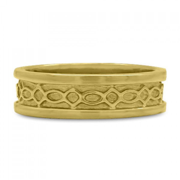 Felicity (WB) Wedding Ring in 18K Yellow or White Gold
