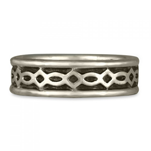 Felicity (WB) Wedding Ring in Sterling Silver
