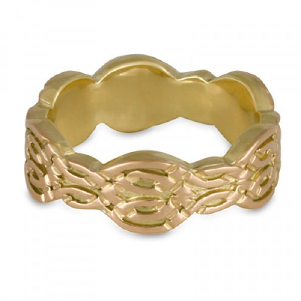 Flow Gold Ring 14K