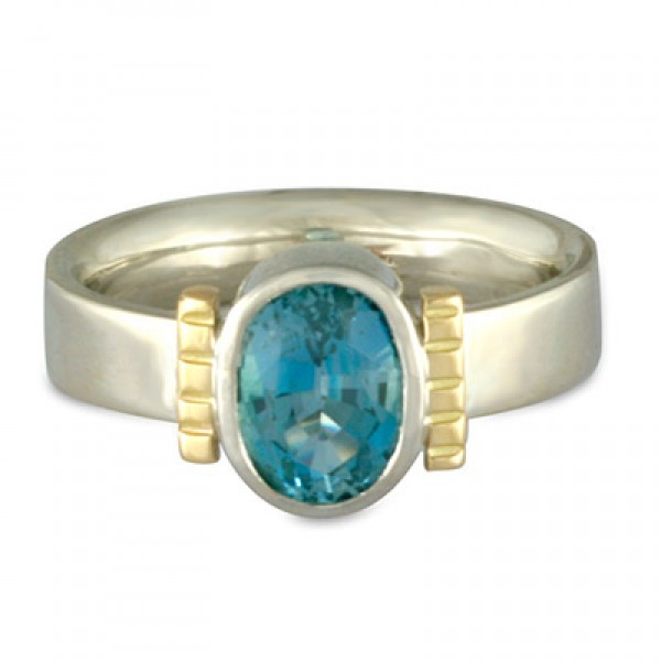 O'hara Aquamarine Ring