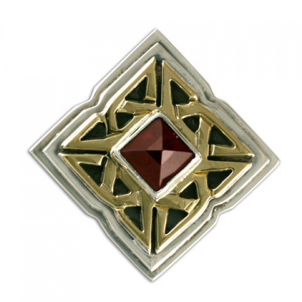 Celtic Corners Button Cover