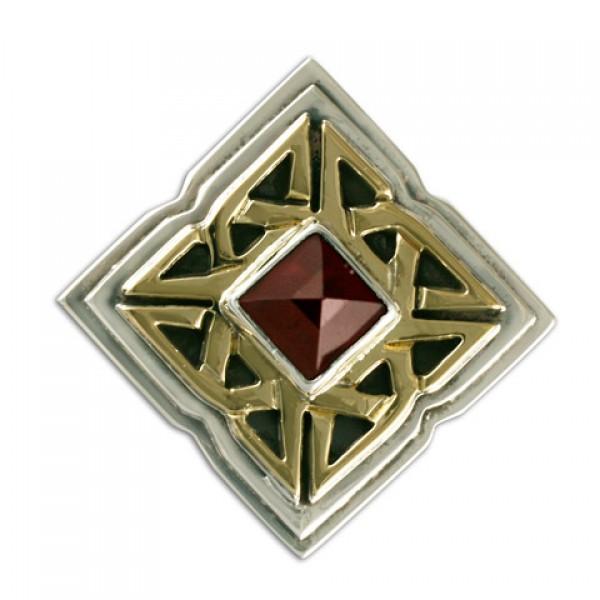 Celtic Corners Button Cover