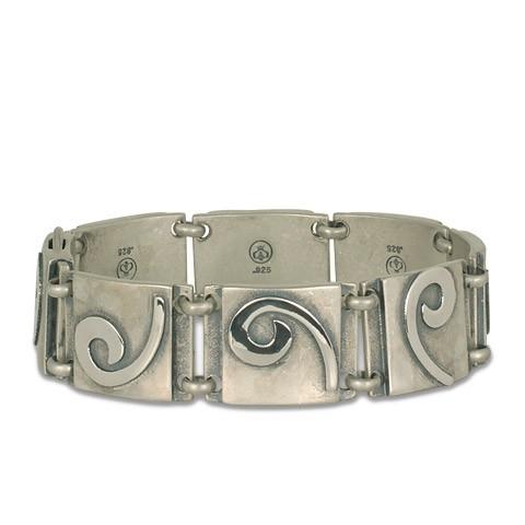 Industrial Swirl Bracelet Small