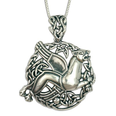 Leo the Lion Pendant (Large)