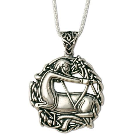Sagittarius the Centaurt Pendant on Chain (Small)