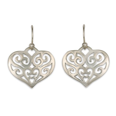 Collette Heart Earring