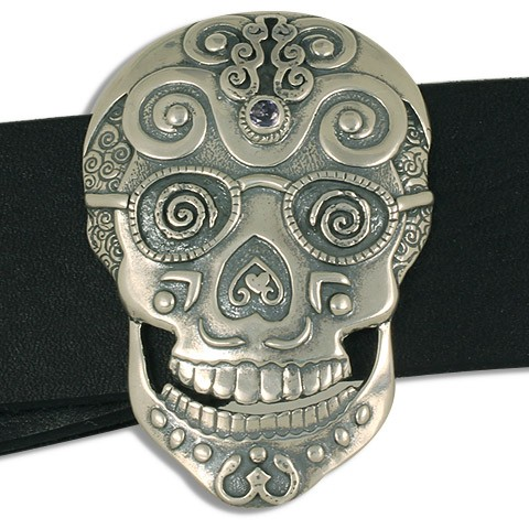 Timothy Skull Buckle