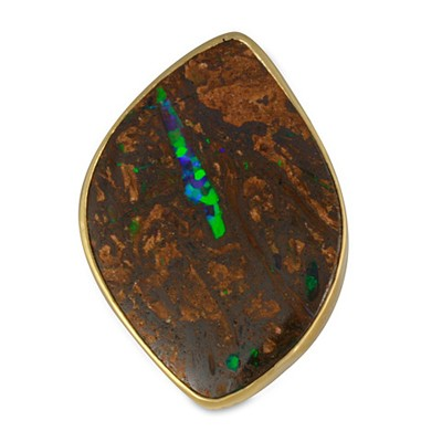 One-of-a-Kind Boulder Opal Ring