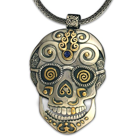 One-of-a Kind Timothy Skull Pendant