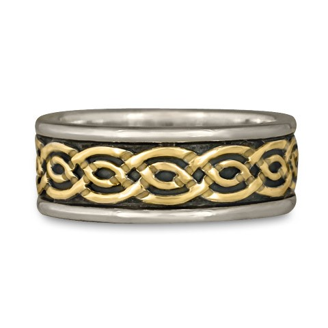 Bordered Laura Wedding Ring (SGS)