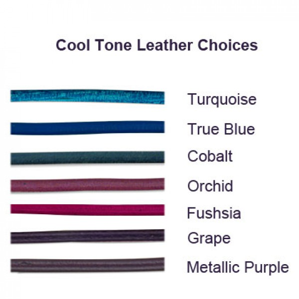Cool Tone Leather Colors