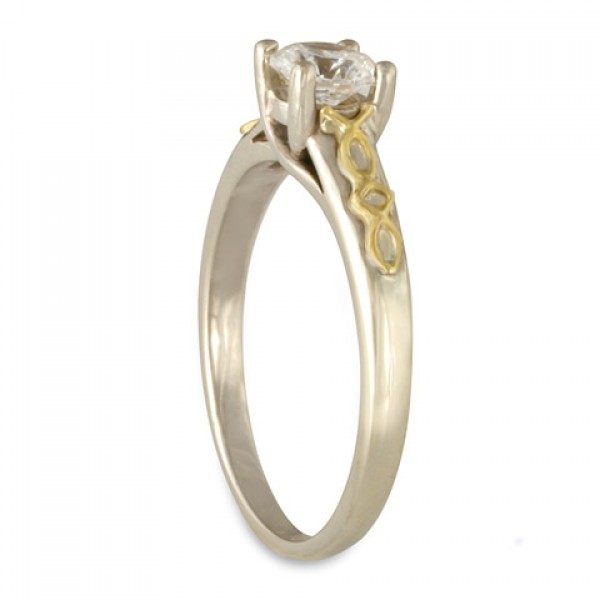Felicity Solitaire Engagement Ring By Celtic Jewelry