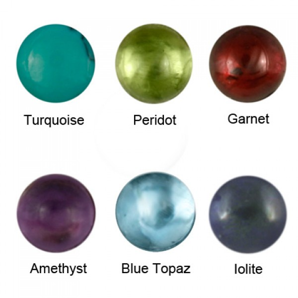 Round Gem Options