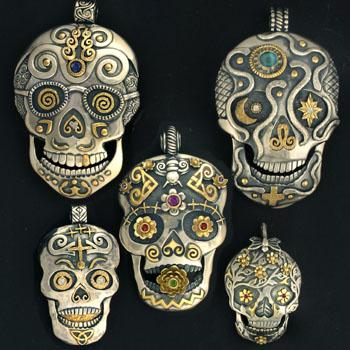 Celtic  skulls