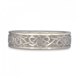 celtic heart wedding ring